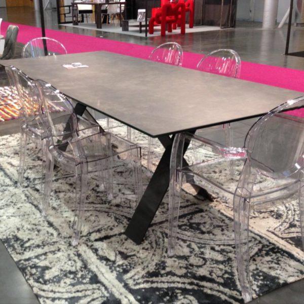 AMEUBLEMENT HYORIS -METZ TABLE DE REPAS XENON