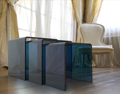 HYORIS table-gigogne-ghost-bleu-fumé-verre-courbé-a-chaud-nt004b-1-c