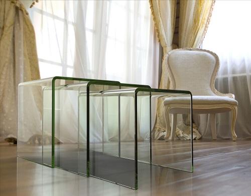 HYORIS table-gigogne-ghost-clair-verre-courbé-a-chaud-nt004-1-c