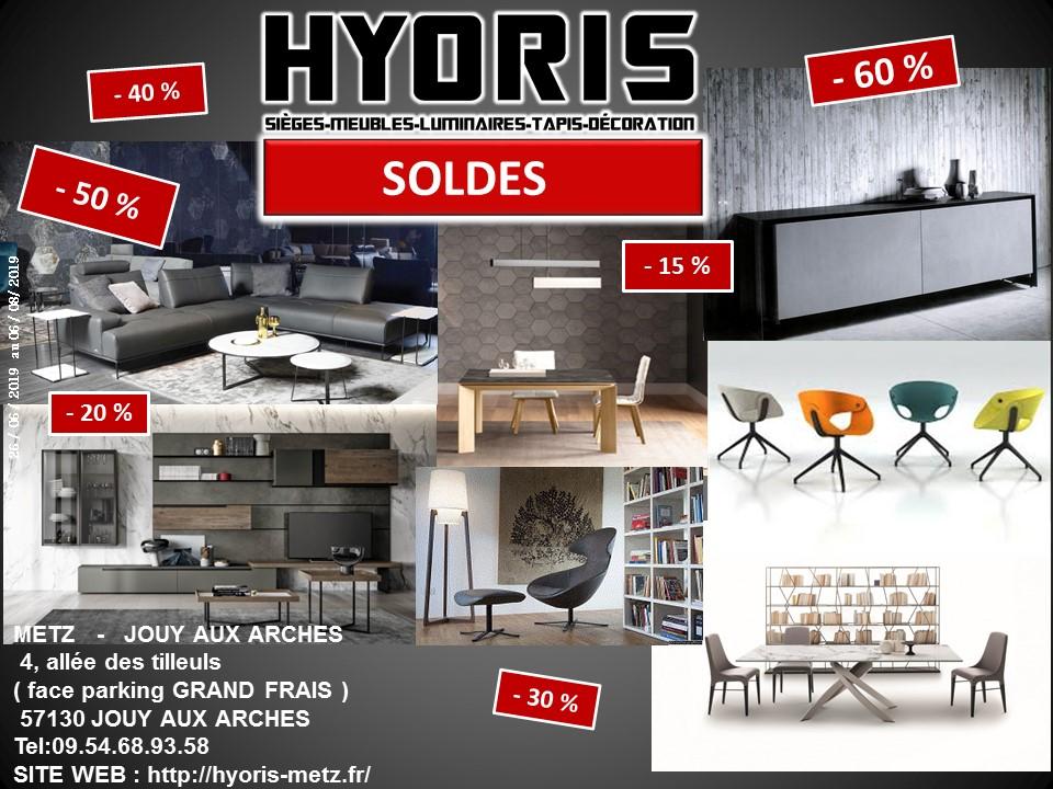 LES SOLDES HYORIS !